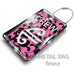 Air New Zealand Uniform Tag-PINK