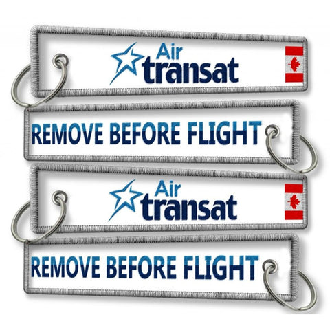 Air Transat-Remove Before Flight