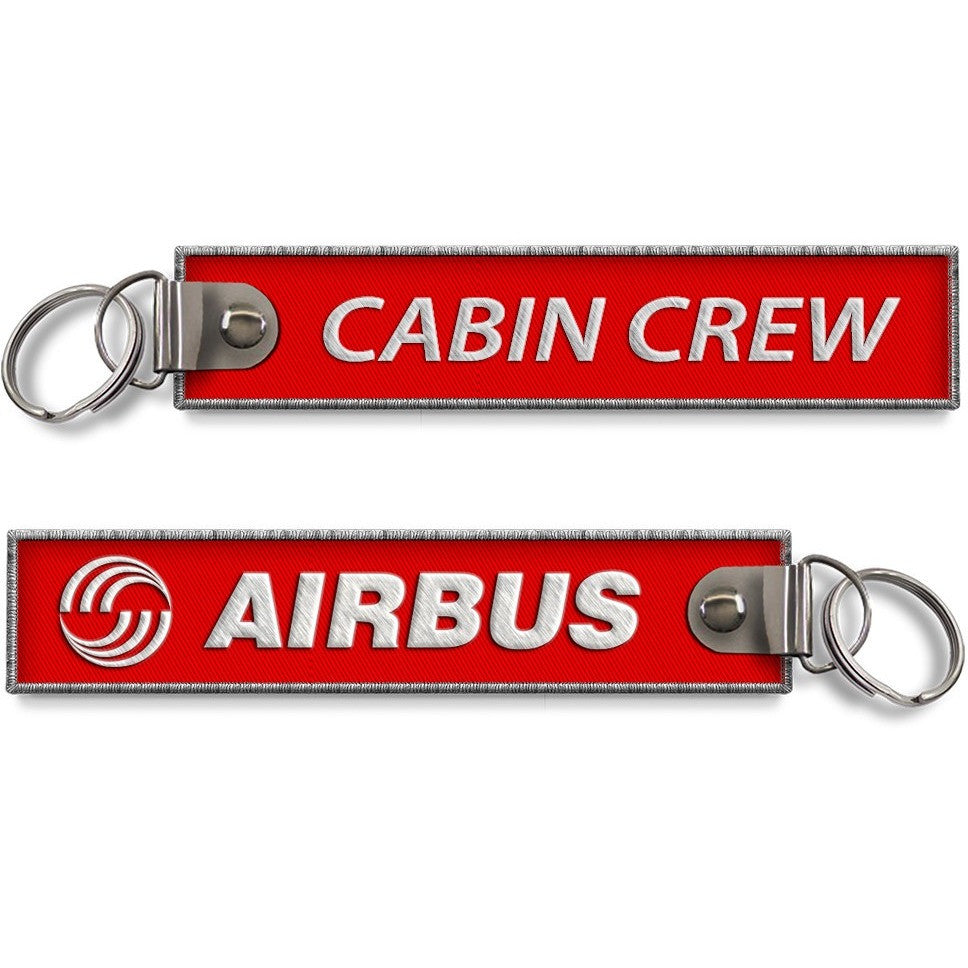 Airbus - Cabin Crew Red Baggage Keyring