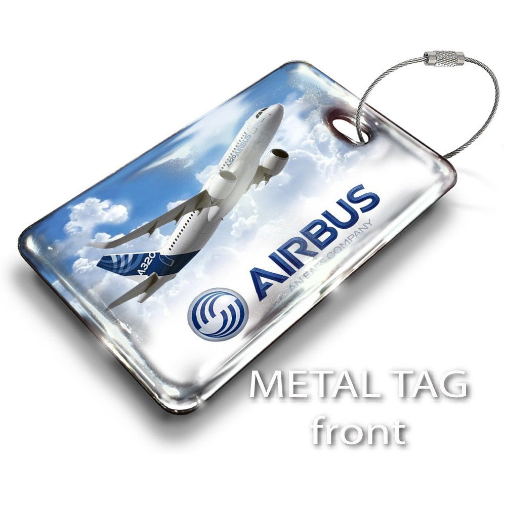 Airbus A320 Crew Tag 1