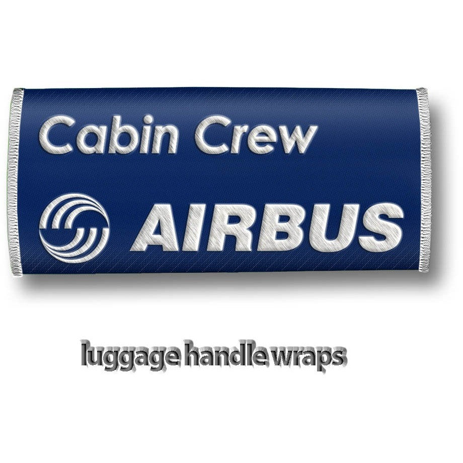 Airbus Cabin Crew- Luggage Handles Wraps