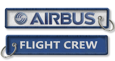AIRBUS-Flight Crew-BagTag-WHITE/BLUE