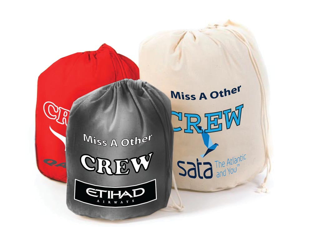 Airline Crew-Personalised Bags