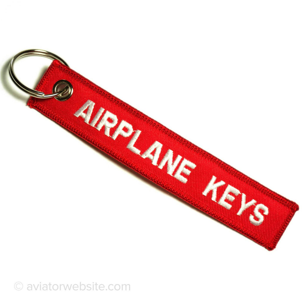 Airplane Keys Keychain