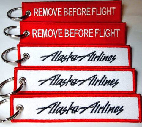 Alaska Airlines-Remove Before Flight