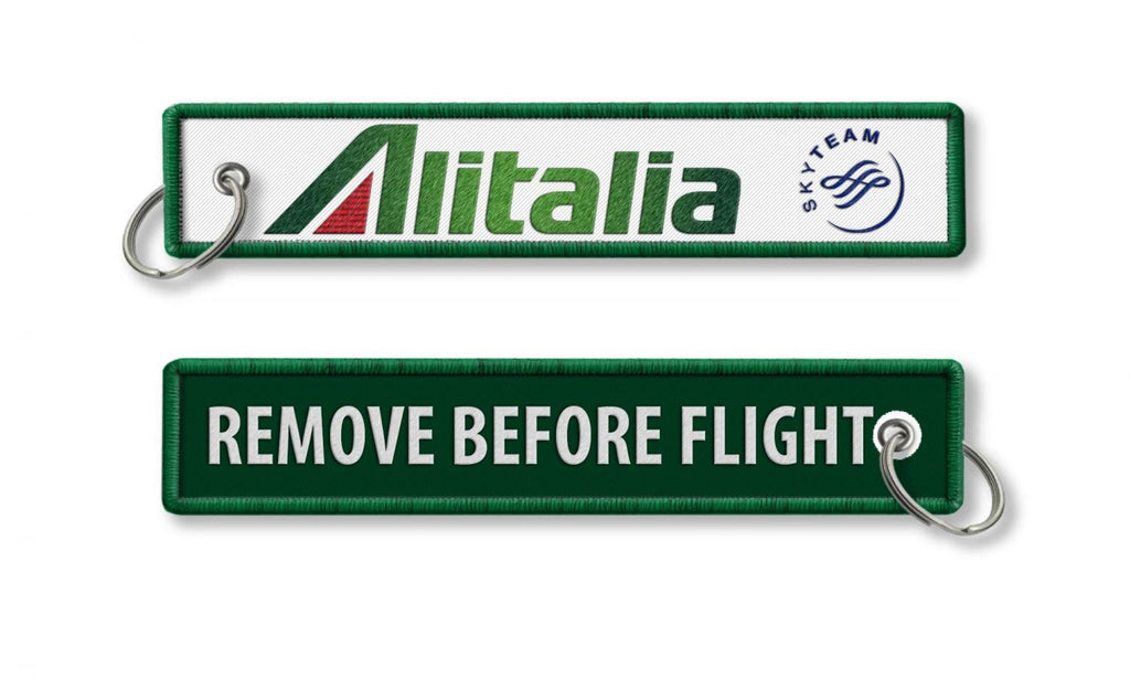 ALITALIA - REMOVE BEFORE FLIGHT New Logo