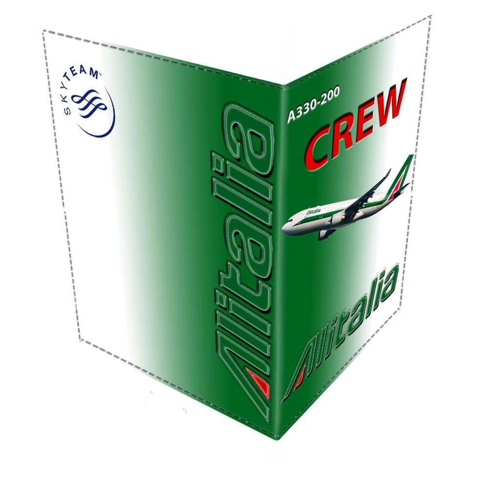 ALITALIA A330 CREW-Passport Cover