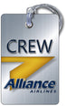 Alliance Airlines Portrait Silver