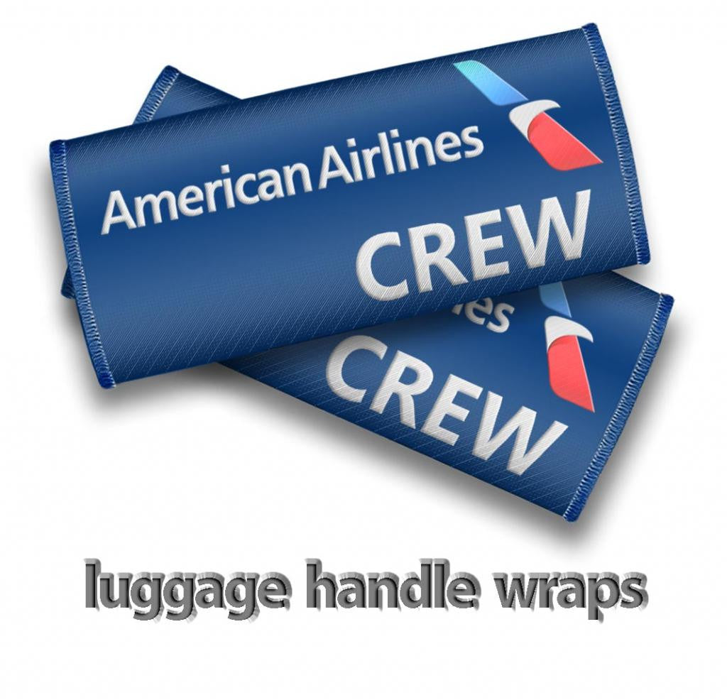 American Airlines Crew Handle Wrap