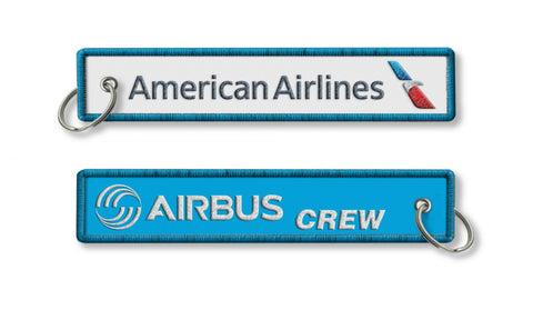 American Airlines-Airbus Crew Keyring