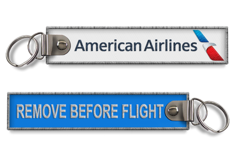 American Airlines-Remove Before Flight