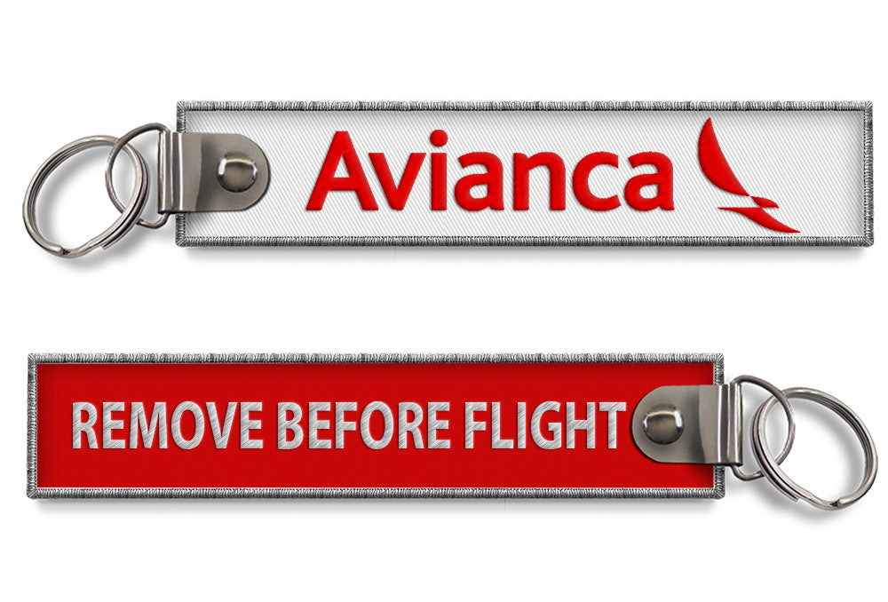 Avianca-Remove Before Flight