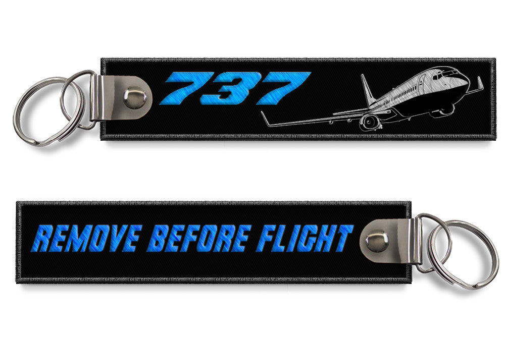 B737-Remove Before Flight Keyring