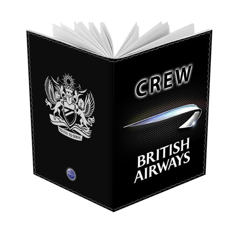 BA Black CREW-Passport Cover
