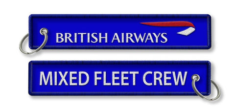 BA Mixed Fleet Crew keychain