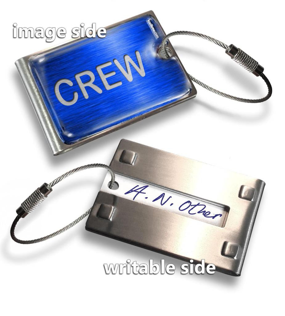 BLUE-CREW(Writable Reverse) Tag