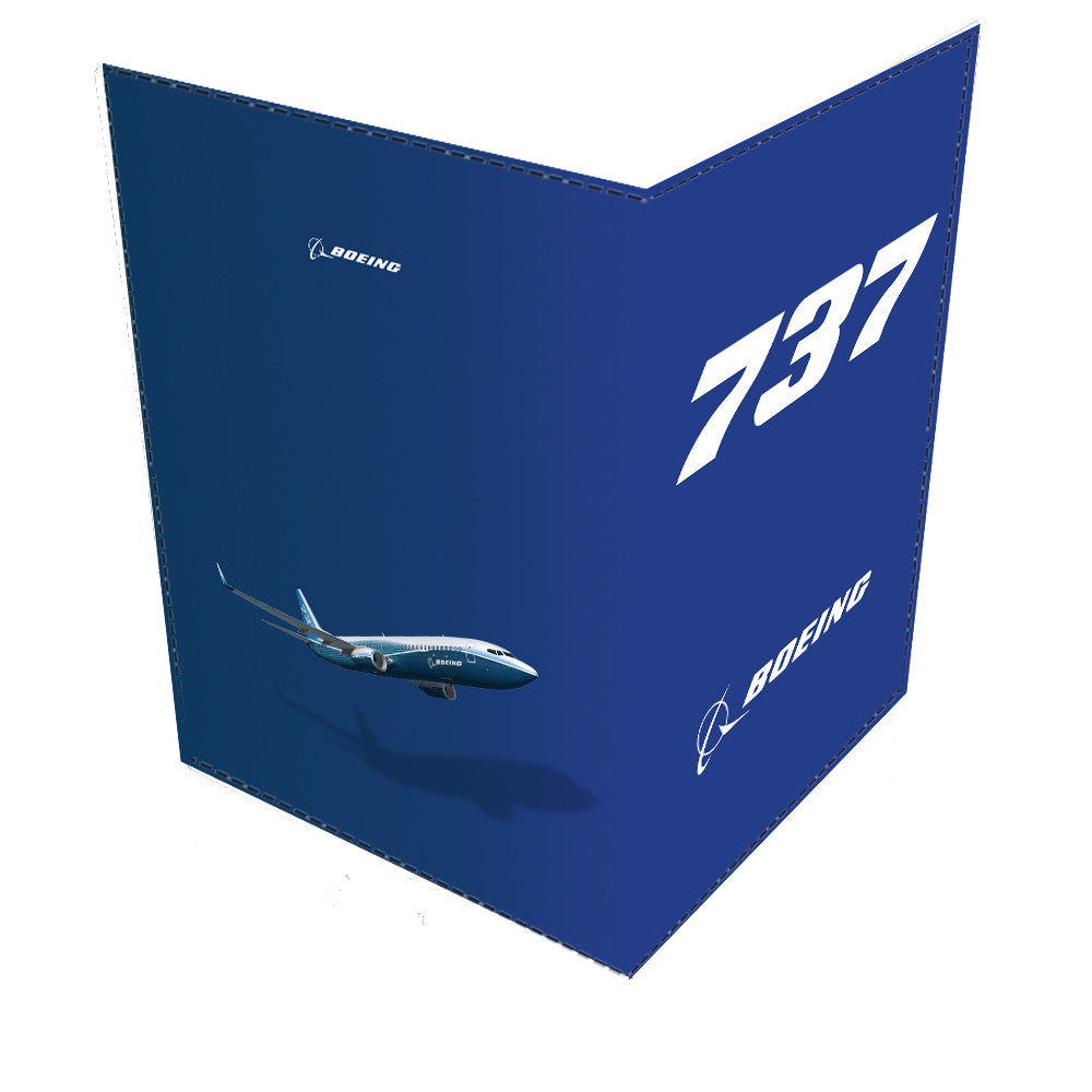 Boeing 737 Passport Cover