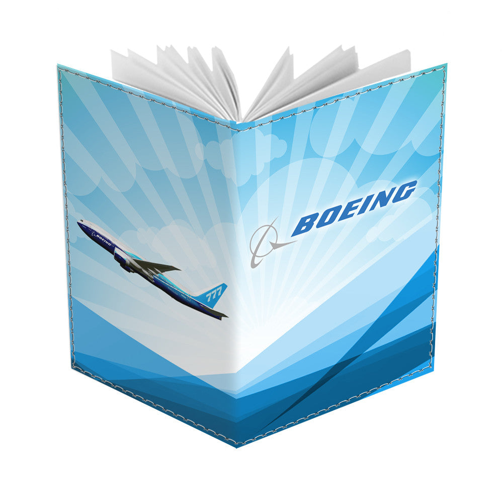 Boeing 777 FX Passport Cover