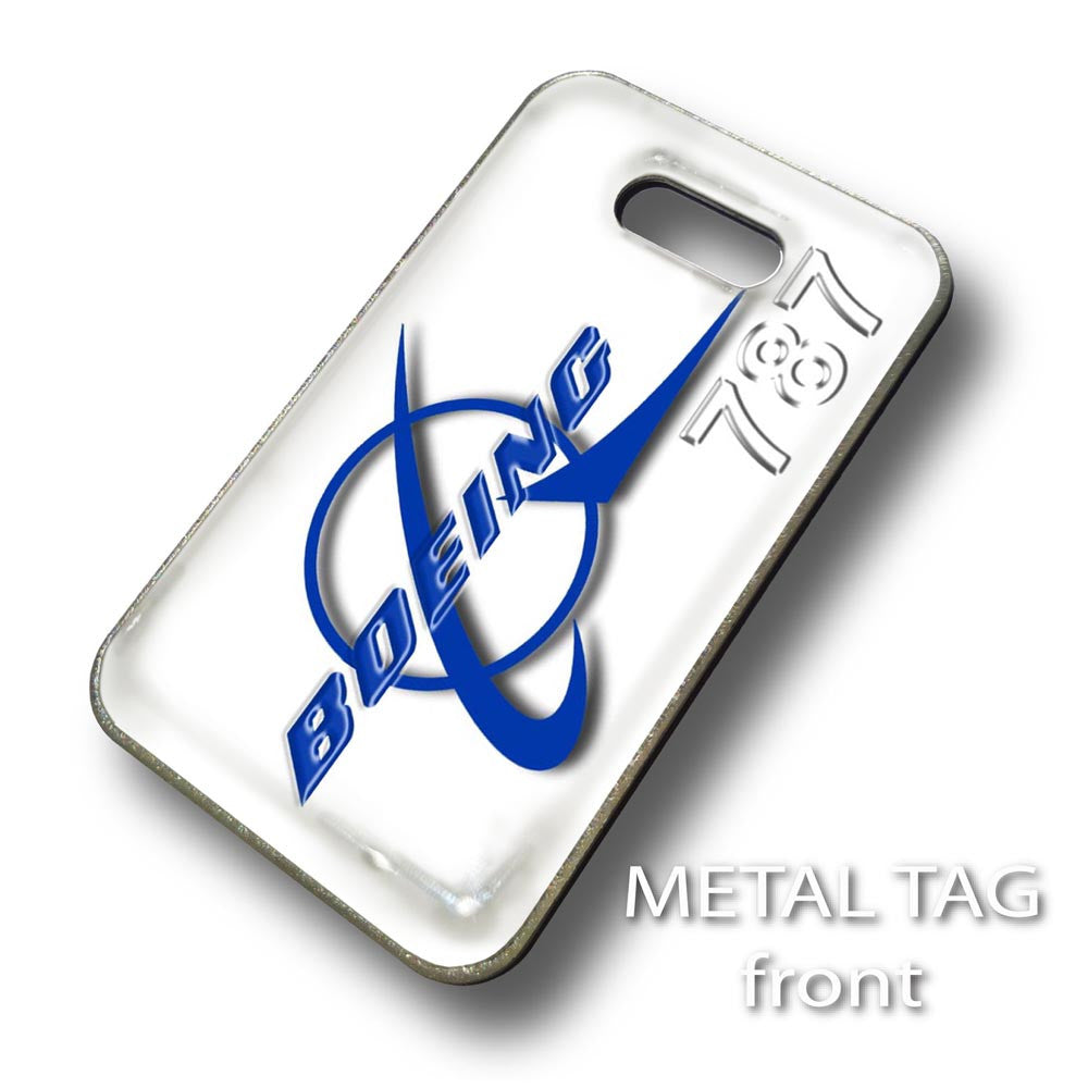 Boeing 787 Logo Luggage Tag