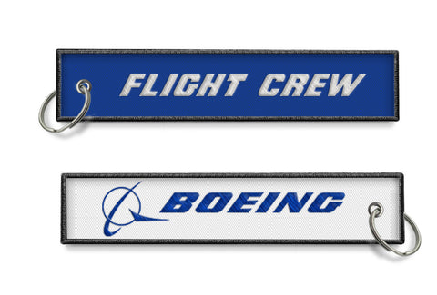 Boeing-Flight Crew Keyring (blue/white)