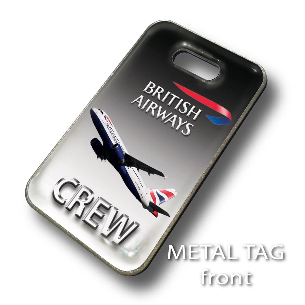 British Airways A320 Black