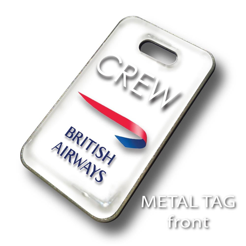 British Airways Portrait WHITE