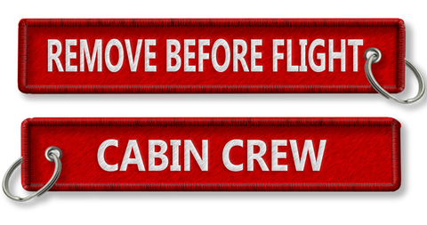 Cabin Crew-Remove Before Flight-RED