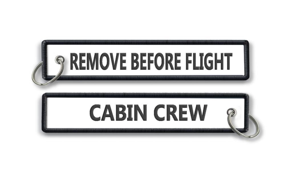Cabin Crew-Remove Before Flight-WHITE