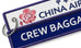 China Airlines-Crew Baggage