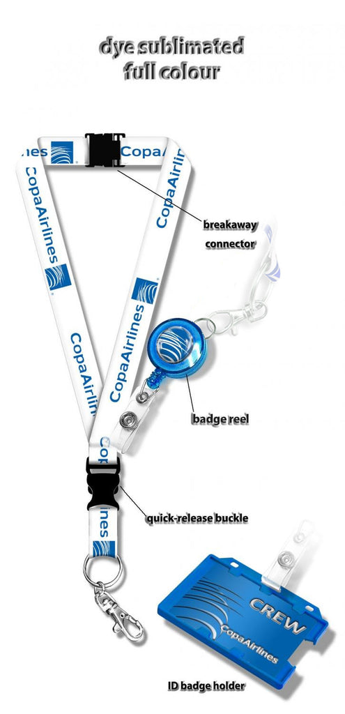 Copa Airlines Logo Lanyard