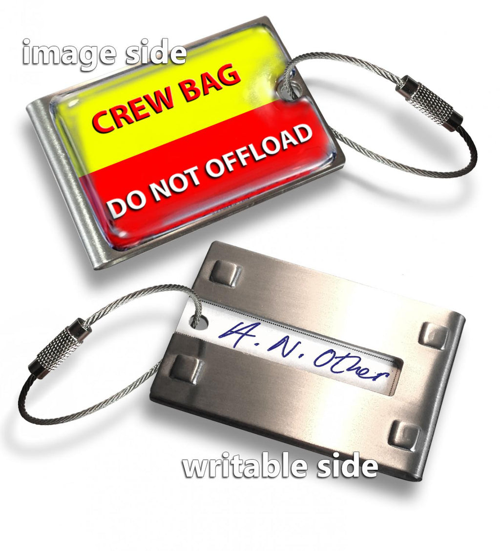 Crew Bag -Do Not Offload(Writable Reverse) Tag