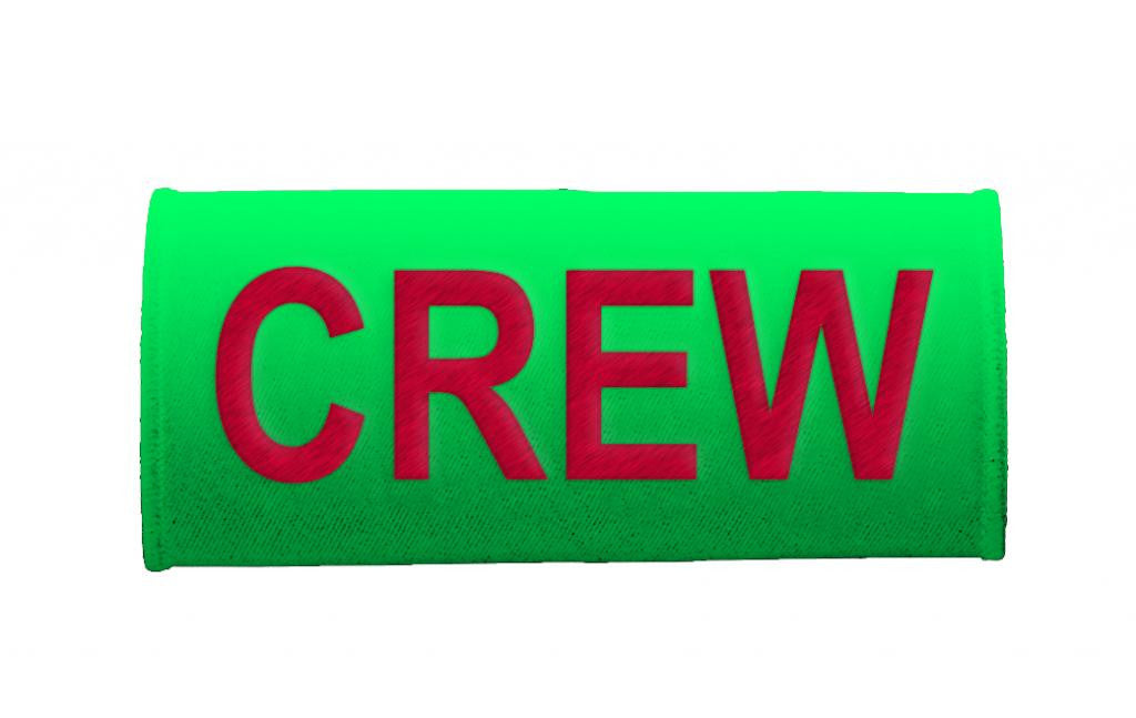 CREW- Luggage Handles Wraps- LIGHT GREEN