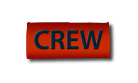 CREW- Luggage Handles Wraps- ORANGE