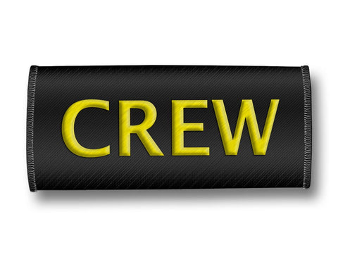 CREW- Luggage Handles Wrap Black