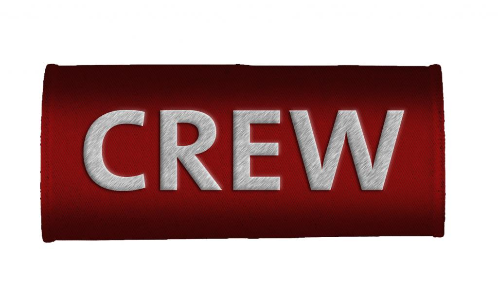 CREW Luggage Handles Wraps RED