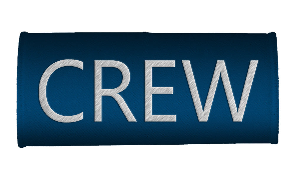 CREW- Luggage Handles Wraps-BLUE