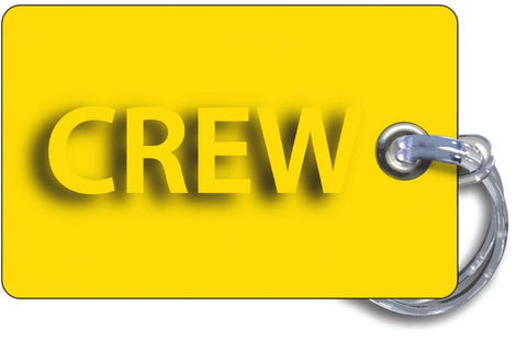Crew Tag-Yellow/Blue