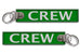 CREW-BagTag Green (BUCKLE)