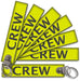 CREW-BagTag Yellow (BUCKLE)
