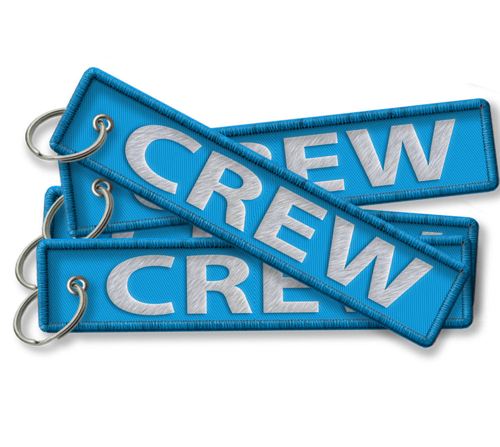 CREW-BagTag-LIGHT BLUE