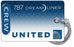 United Airlines Dreamliner Logo