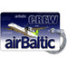 Air Baltic Bombardier Q400 Luggage Tag