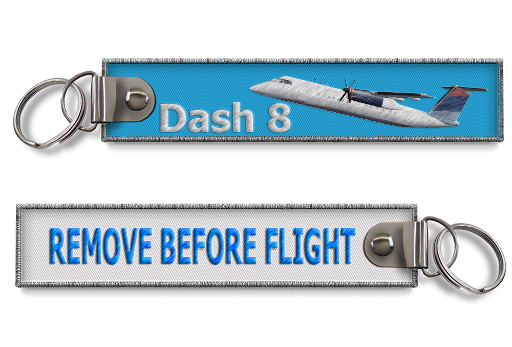 Dash8-Remove before flight