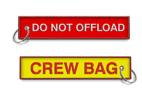 Do Not Offload -Crew Bag Keychain
