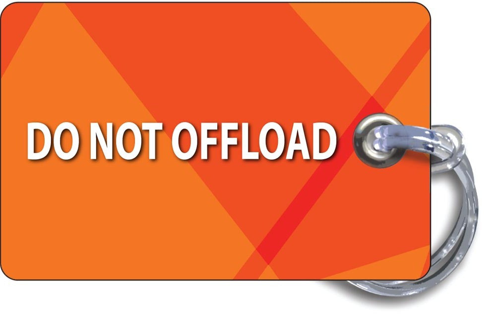 DO NOT OFFLOAD TAG