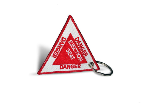 Danger-Ejection Seat Keyring