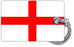 England Flag-WHITE