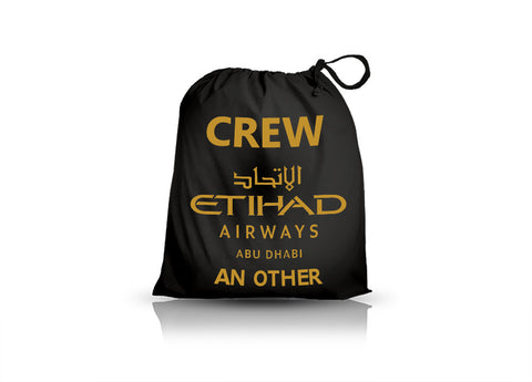 Etihad Airways Crew-Personalised Shoe Bag