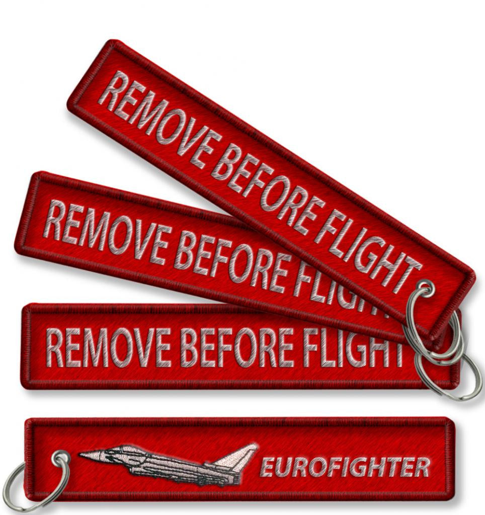 Eurofighter-Remove before flight