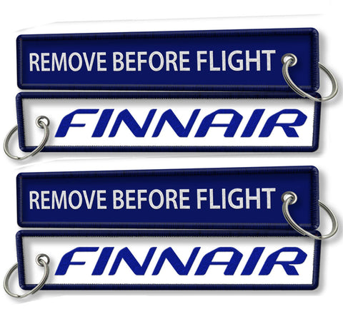 Finnair Remove Before Flight